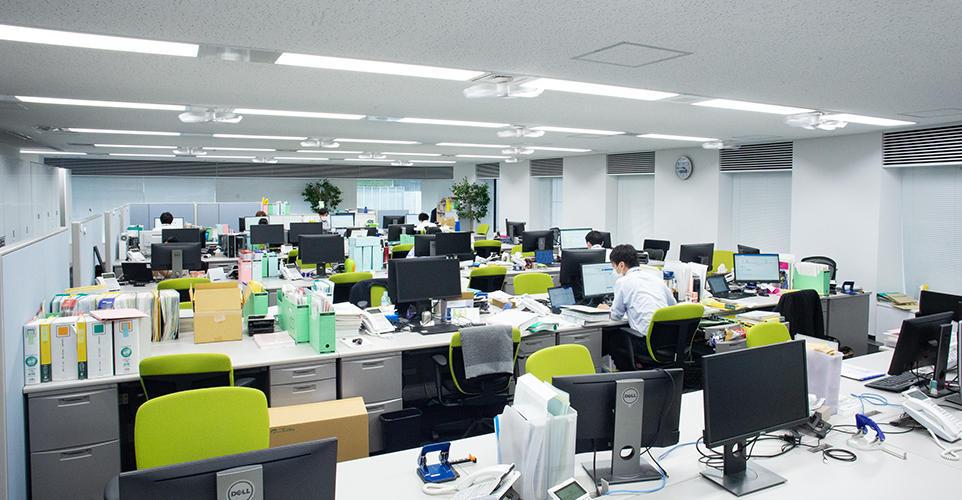 赤坂事務所 執務室