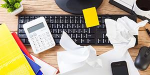 税理士事務所での繁忙期の業務